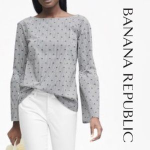 Banana Republic Kristen Bell Sleeve Top Small